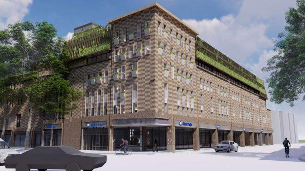 """Upgrading """"De Haarlemmer Shopping Center & Offices"""" Leiden"""